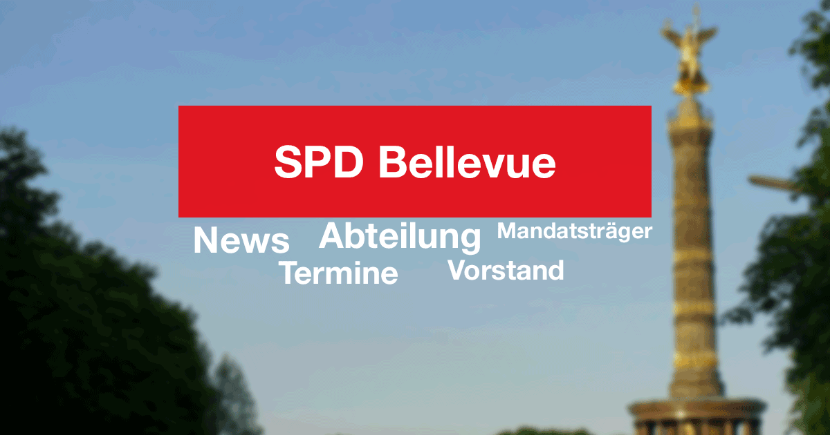 DATENSCHUTZERKLÄRUNG | SPD Bellevue